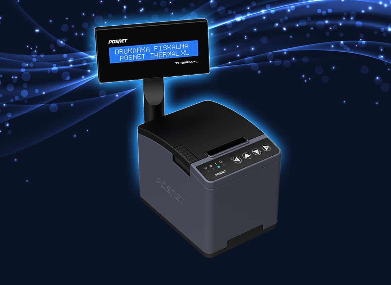 Thermal XL - najpopularniejsza drukarka fiskalna Posnet